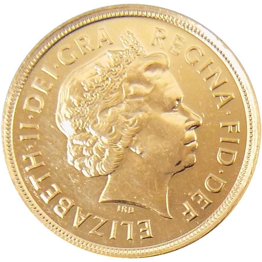 Pre-Owned 2006 UK Full Sovereign Gold Coin (Image 1)