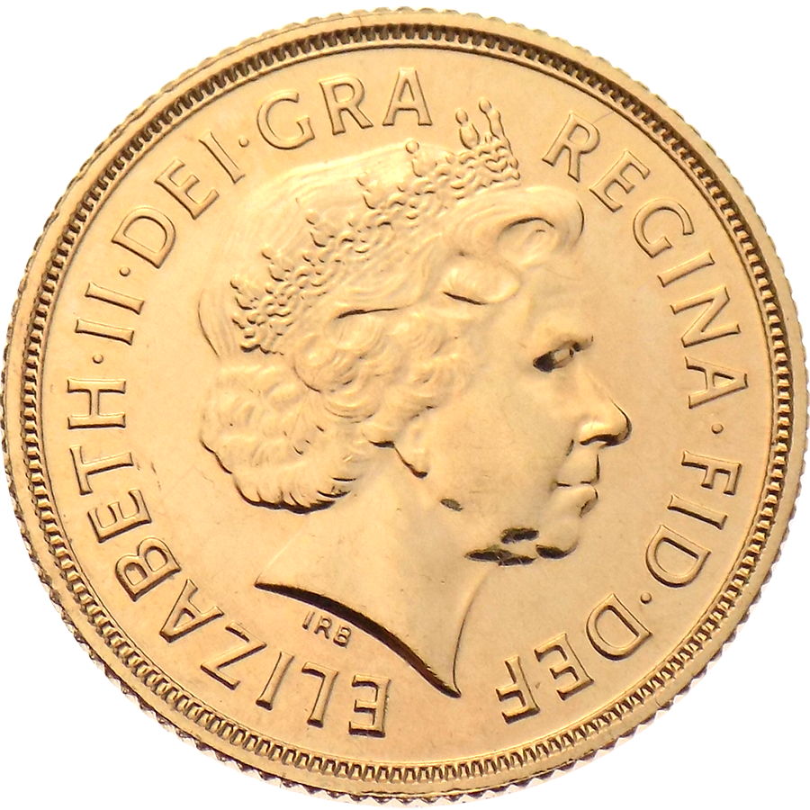 Pre-Owned 2009 UK Full Sovereign Gold Coin (Image 1)