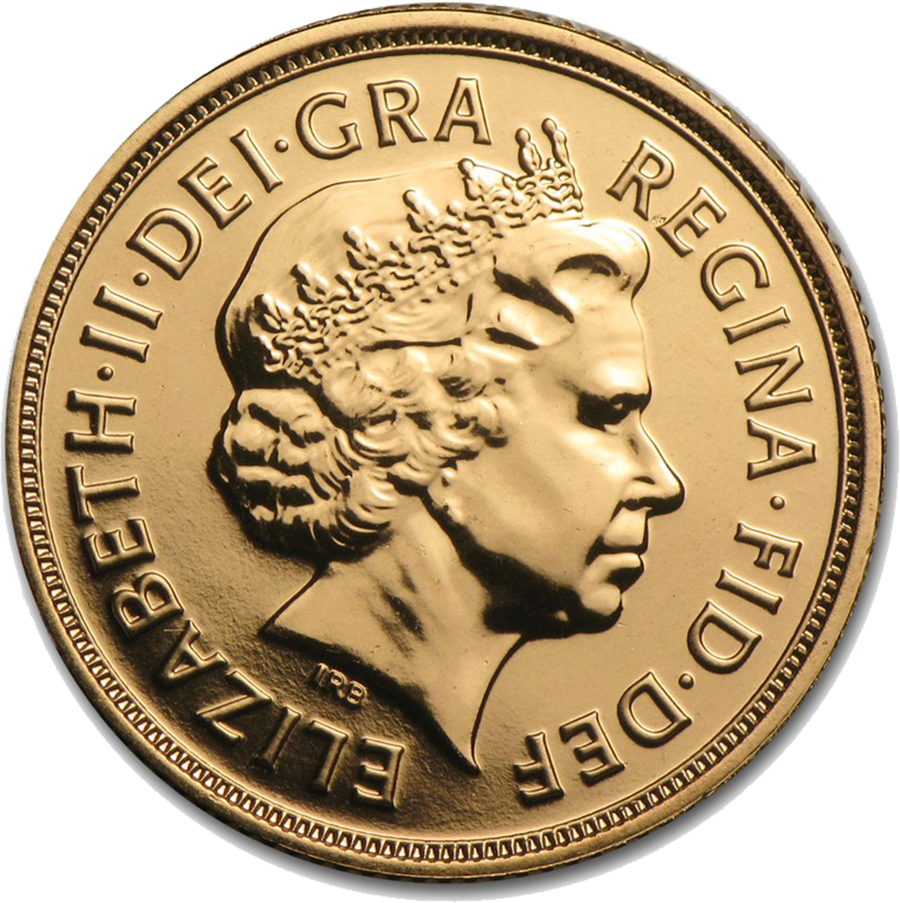 Pre-Owned 2015 UK Full Sovereign Gold Coin