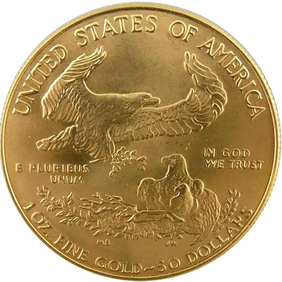 Buy 1993 Usa Eagle 1oz Gold Coin Free Insured Delivery