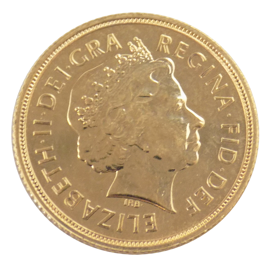 Pre-Owned 2007 UK Full Sovereign Gold Coin