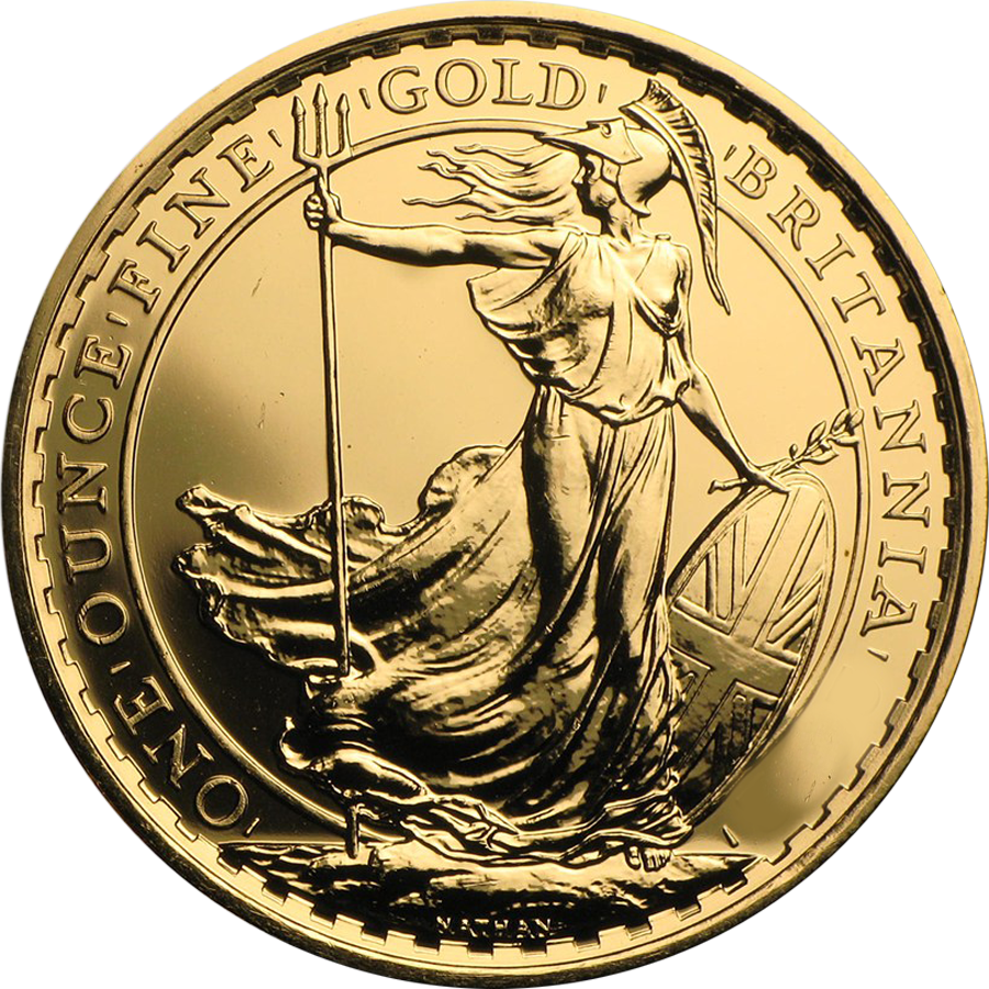 Pre-Owned Pre 2013 UK Britannia 1oz Gold Coin (Image 1)