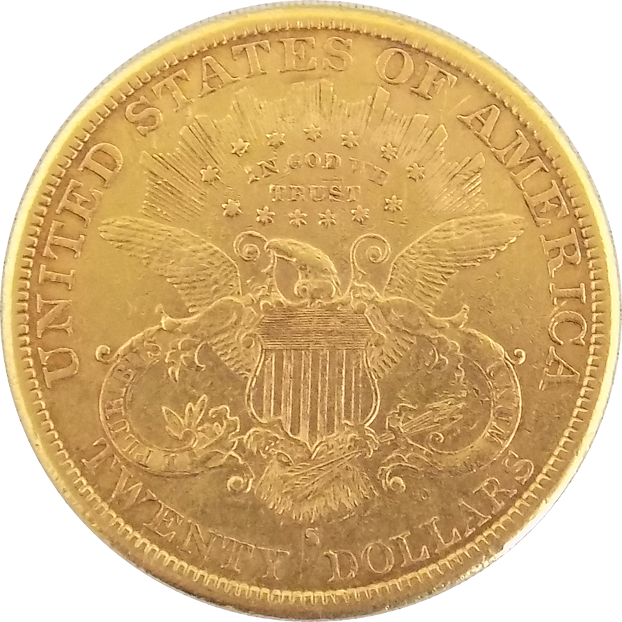1885 Usa 20 Double Eagle Gold Coin Atkinsons
