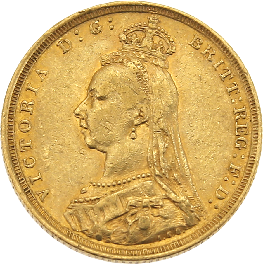 1888 Sydney Mint Full Sovereign Gold Coin Get Cheap Gold