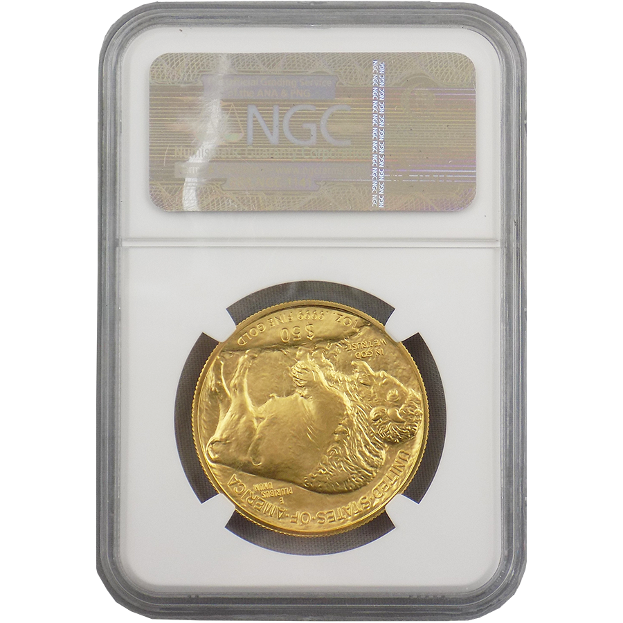 Pre Owned 2015 Usa Buffalo Gold Coin Ngc Graded Ms 69