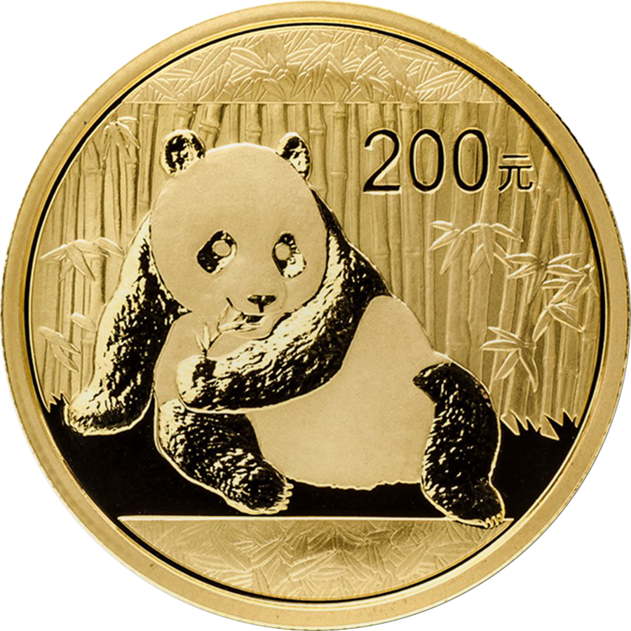 Pre-Owned 2015 Chinese Panda 1oz Gold Coin