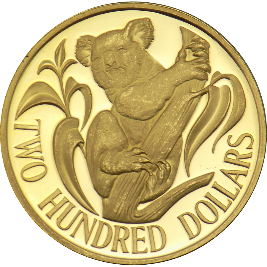 Pre Owned 1984 Australian 200 Koala Gold Coin Atkinsons