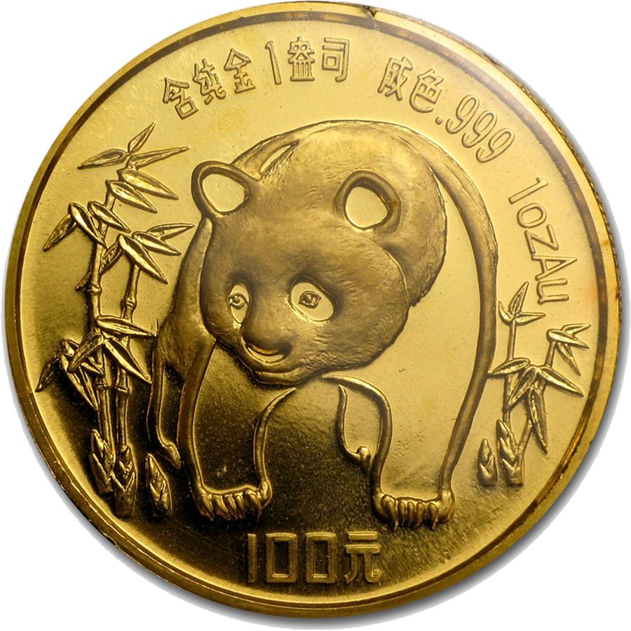 1986 Chinese Panda 1oz Gold Coin Brilliant Prices Amp Free