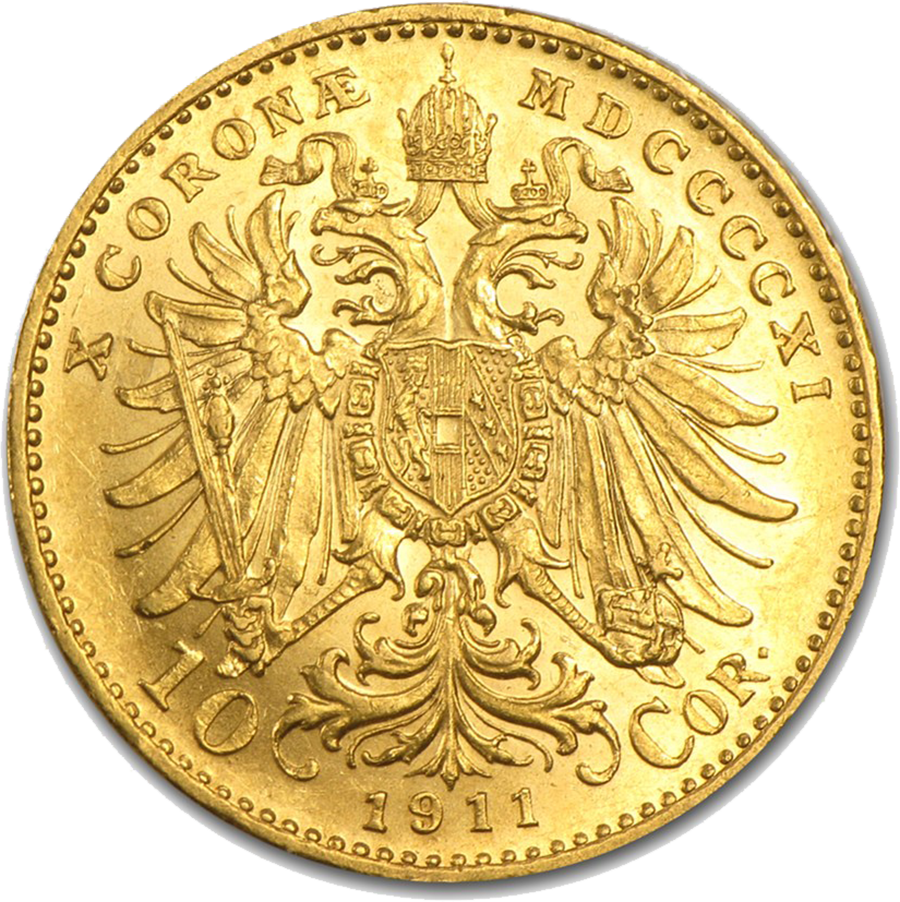 Pre-Owned Austrian 10 Corona Gold Coin - Mixed Dates