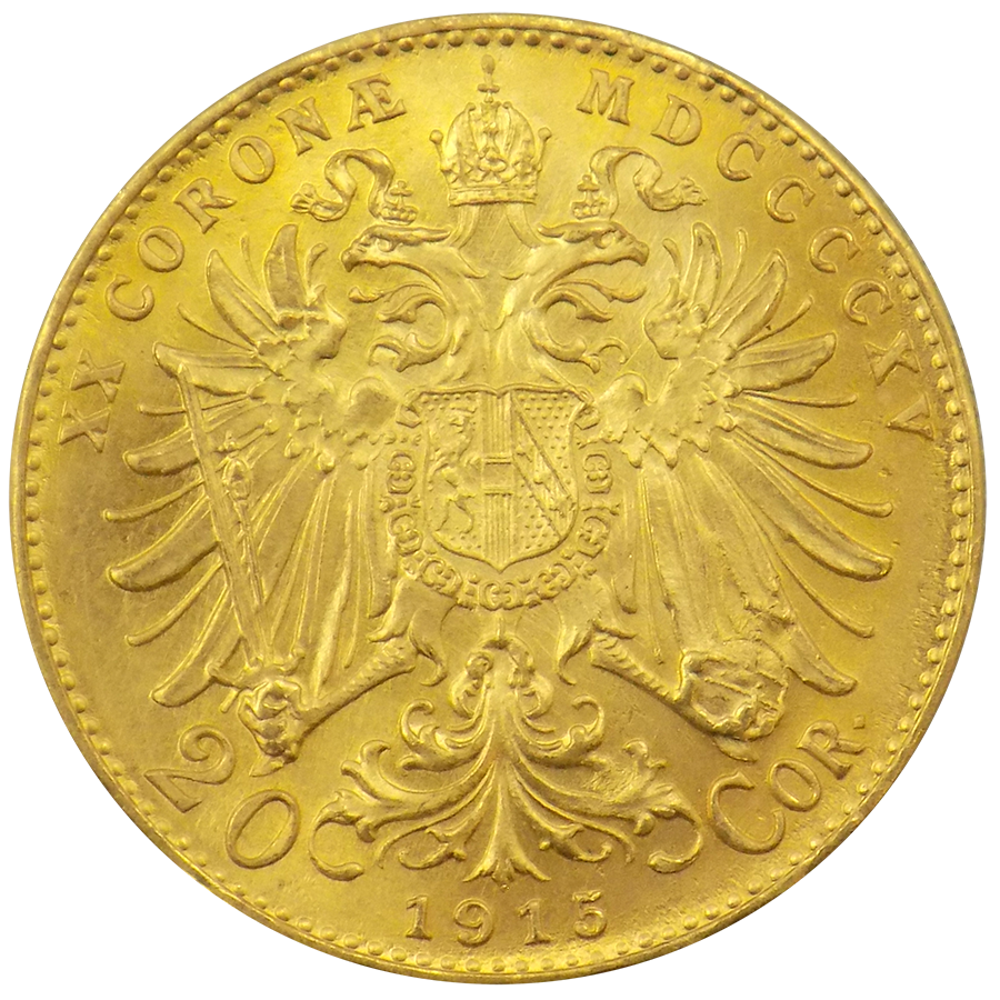 Pre-Owned Austrian 20 Corona Gold Coin - Mixed Dates