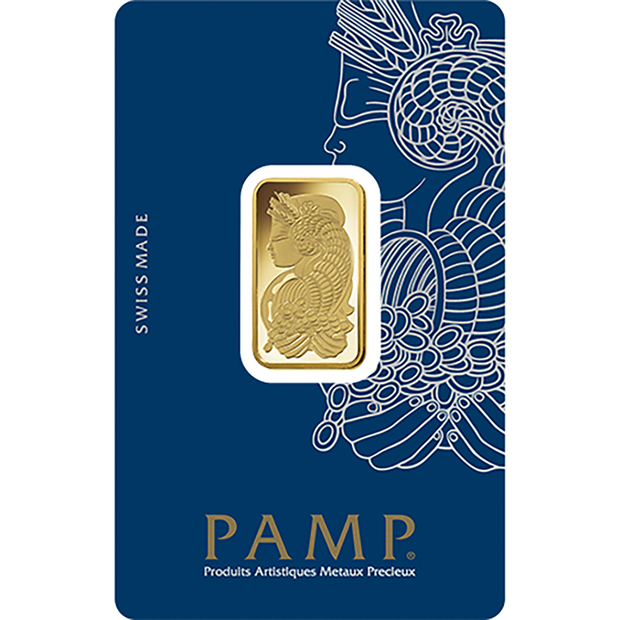 PAMP Suisse Fortuna 10g Gold 25 Bar Box (Image 3)