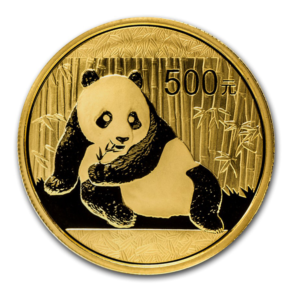 Chinese Panda 1oz Gold Coin - Mixed Dates