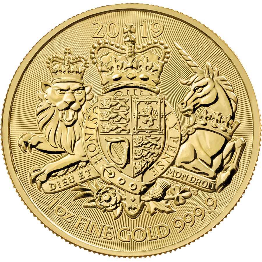 Royal Mint Coat of Arms 1oz Gold Coin