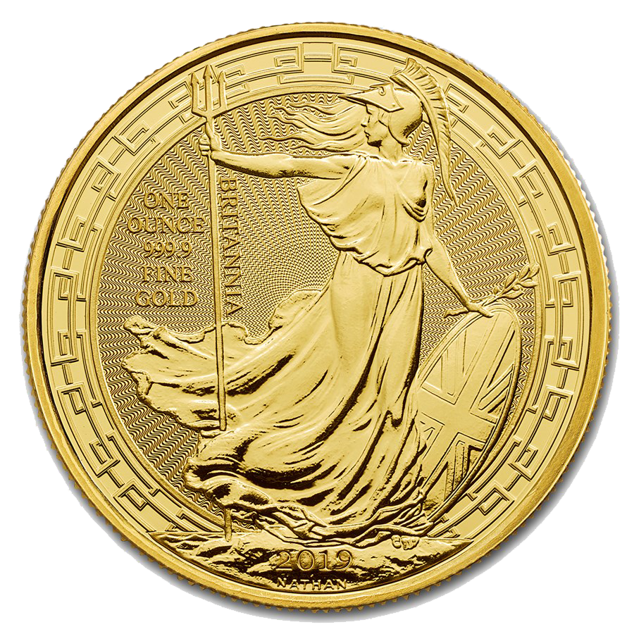 Royal Mint Oriental Border Britannia 1oz Gold Coin