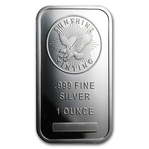 Buy Silver Bars Free Insured Delivery Atkinsons Bullion